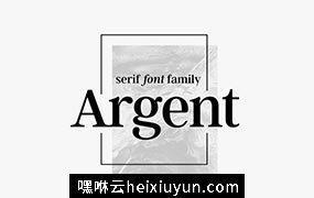 衬线字体 Argent CF expressive serif font #294129