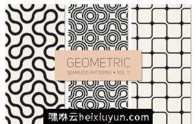 几何无缝背景纹理素材 Geometric Seamless #733023