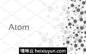 原子形状设计背景Atom