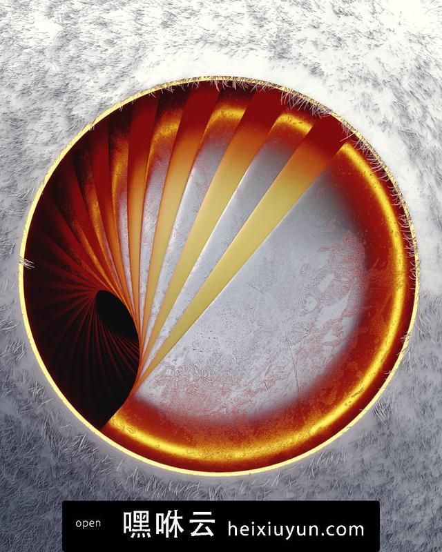 嘿咻云-[12-08-17] - Nest圆的旋转圈C4D动画工程文件分享