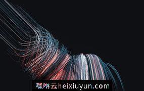 [14-03-17] – Sweep 交织的拖把状线条C4D动画工程文件分享