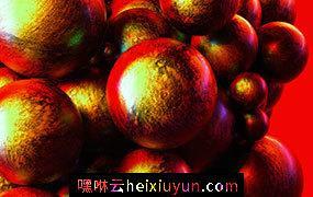[03-06-17] – Red红色球体C4D动画工程文件分享