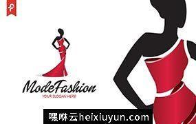现代时尚模特LOGO模板 Mode Fashion Logo #506197