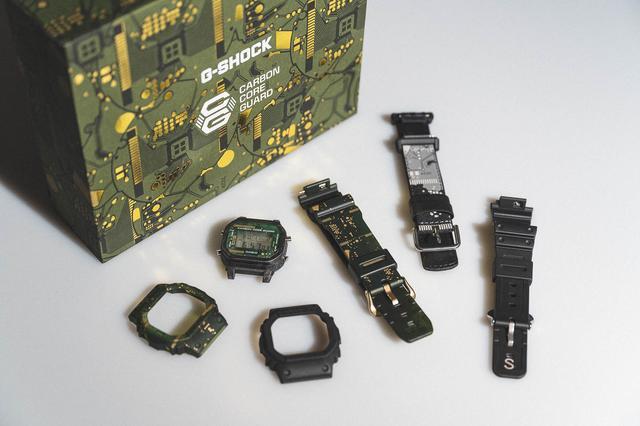 G-Shock带来了全新DWE-5600CC腕表,最经典百搭的一款手表