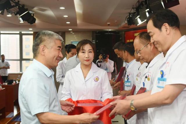 阜阳市妇女儿童医院 40 周年成果展暨抗疫先进表彰「云路演」