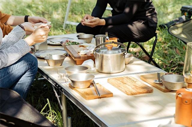 户外露营餐具推荐,不要带你家的锅碗瓢盆去露营了