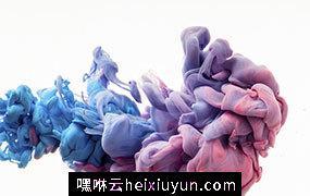 彩色渐变抽象梦幻水彩烟雾油漆效果高清背景JPG图片设计素材823119