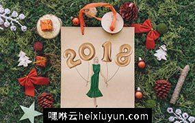 手绘圣诞节新年剪贴画 New Year Christmas Clip Art
