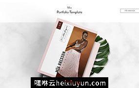 时尚杂志广告画册设计模板 Portfolio & Catalog ? M?a