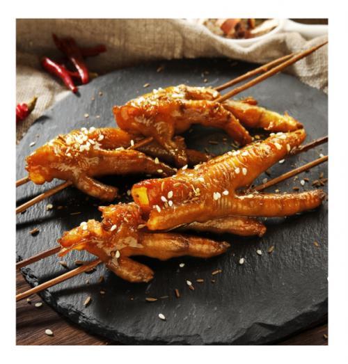 卤人甲新品鸡爪炙热上线,全面上市尝鲜!