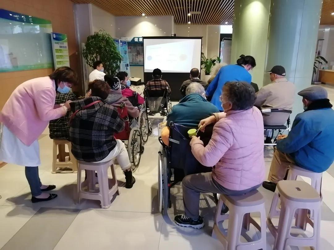 上海市第二康复医院举办「脑卒中日」的健康宣教活动