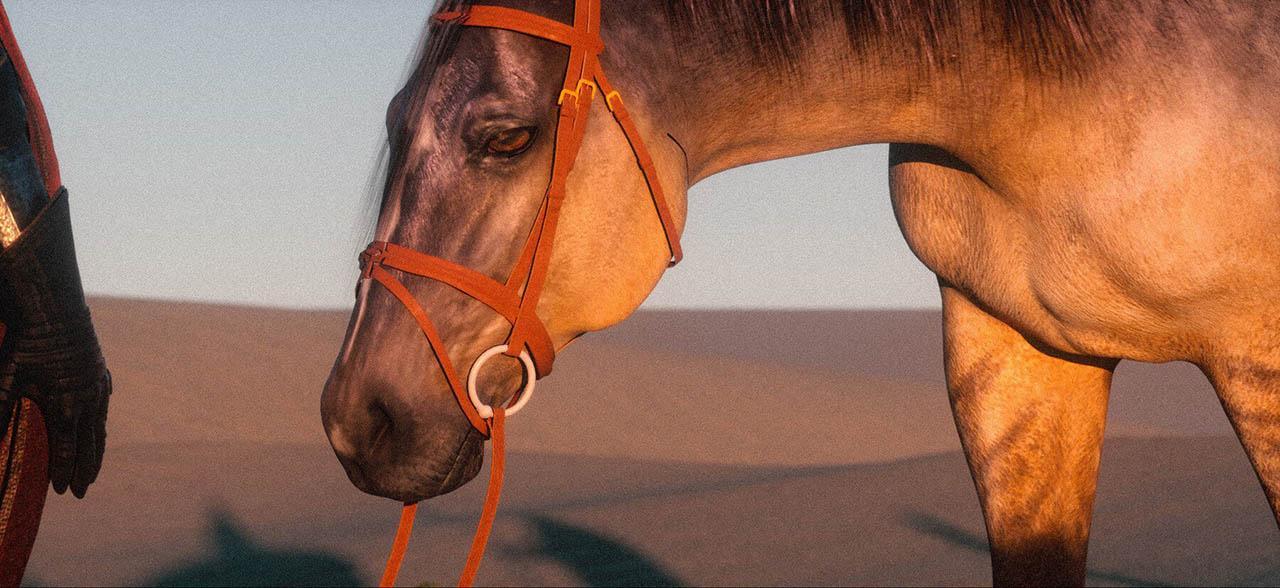 Artstation Dune Queen fast key frames Tutorial Octane Standalone 2020 and Photoshop – Octane软件场景渲染教程