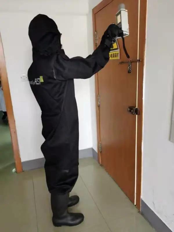 同济大学附属同济医院多部门联合举行辐射事故应急处置演练