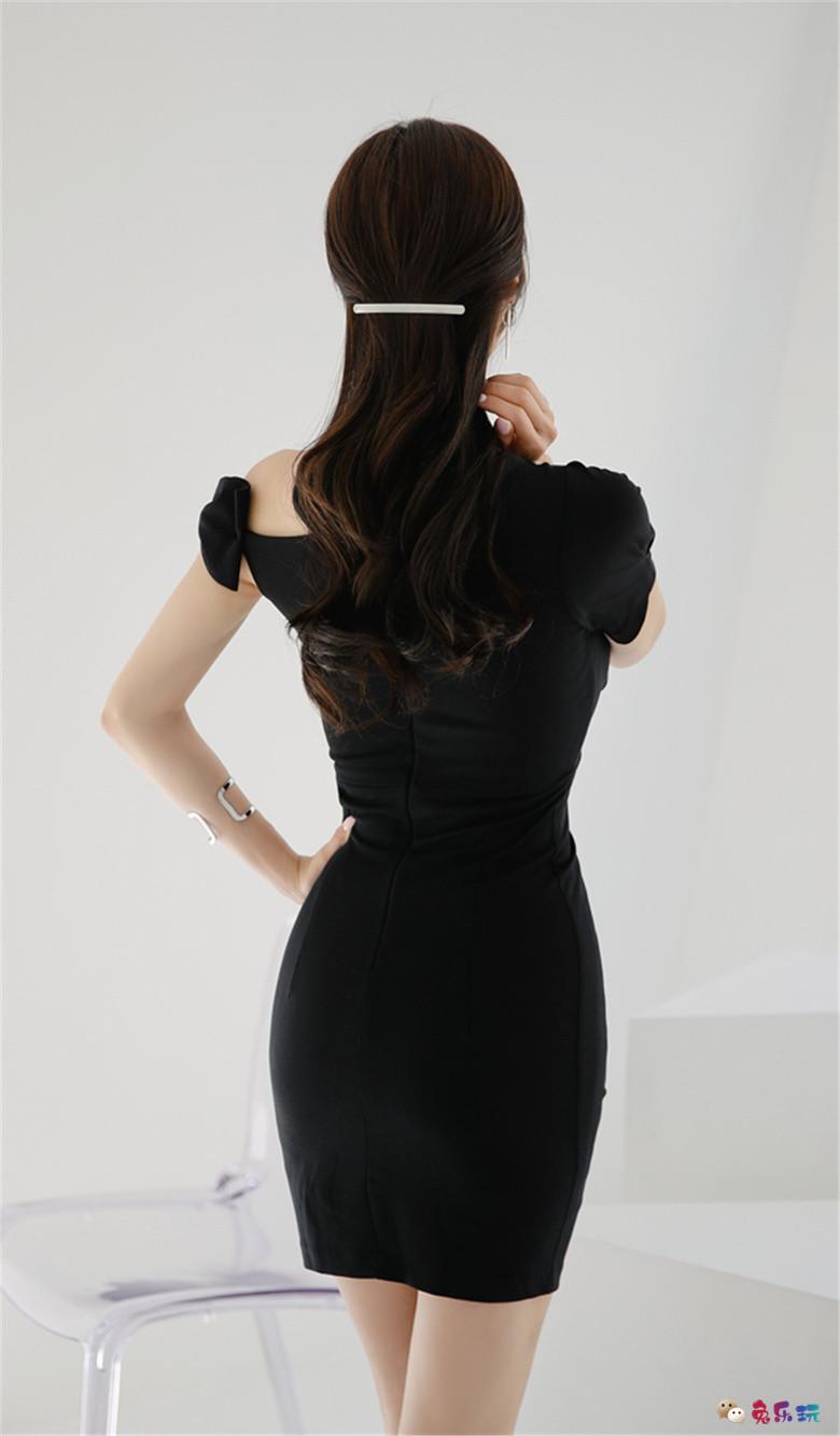 孙允珠:暗黑狂想波斯深邃花木鱼尾裙