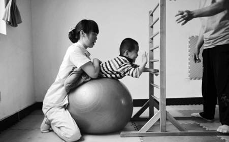 脑瘫儿童感统训练