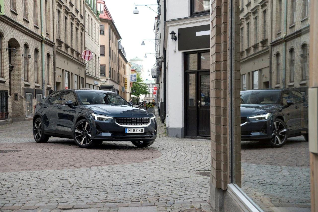 「汽车V报」沃尔沃Polestar 2正式上市;比亚迪秦PLUS官图发布-20201118-VDGER