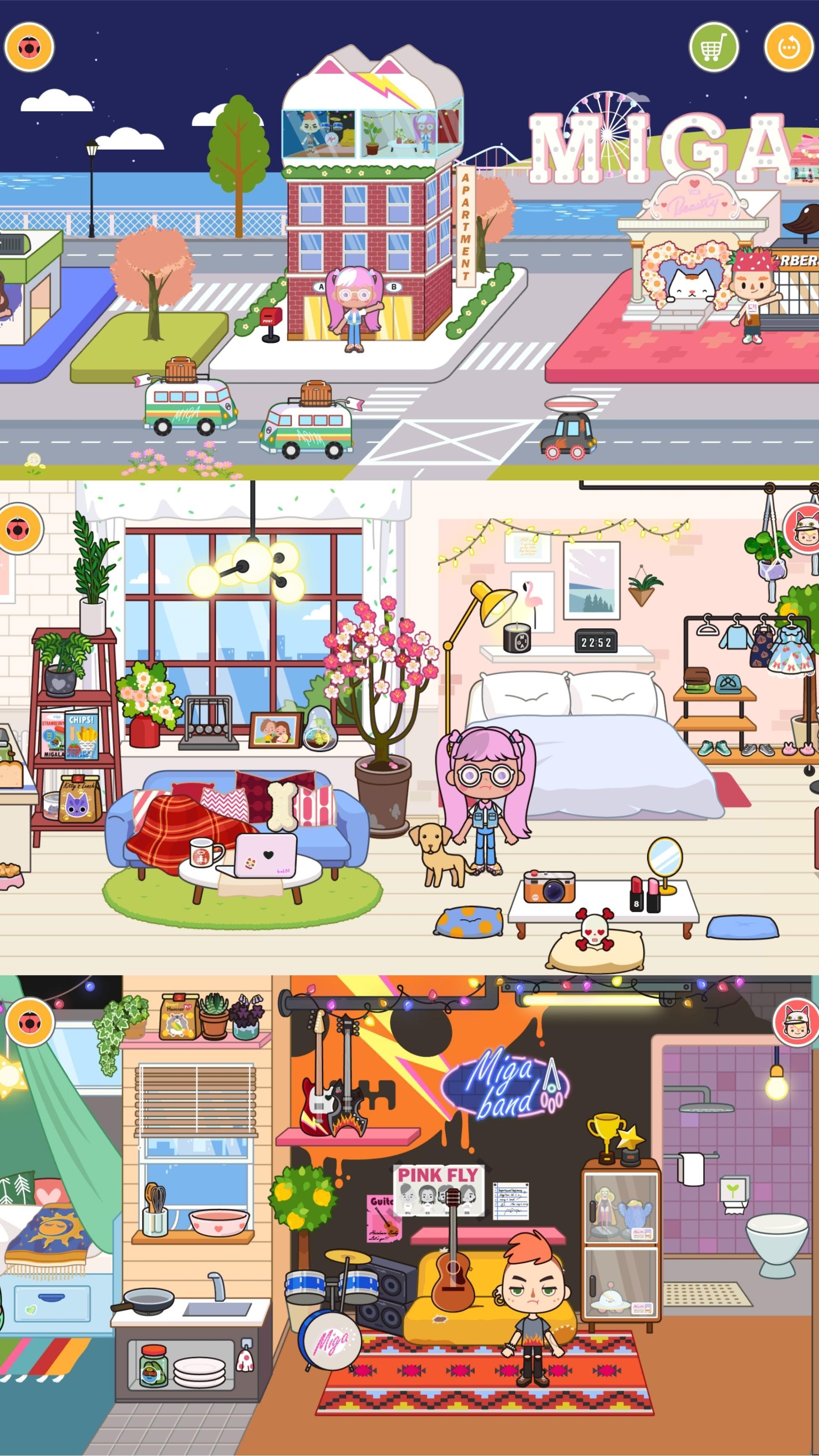 米加小镇:商店优化版截图1