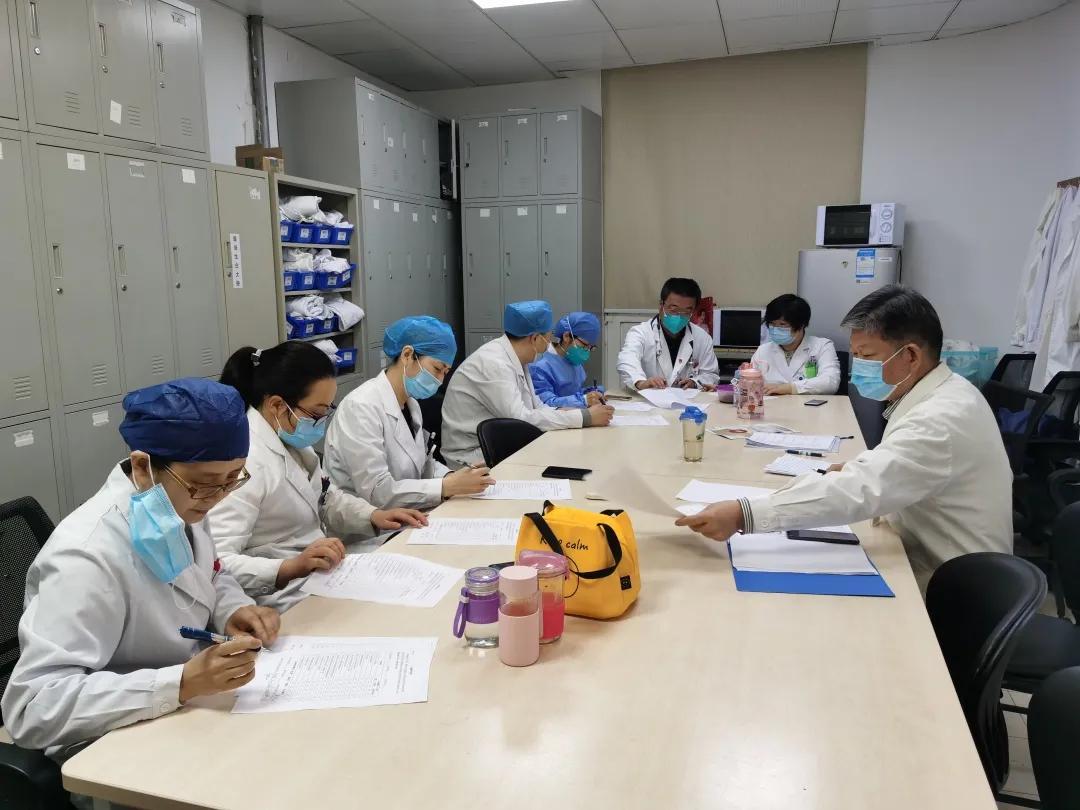 同济大学附属同济医院组织 2020 年住院医师规范化培训年度考核