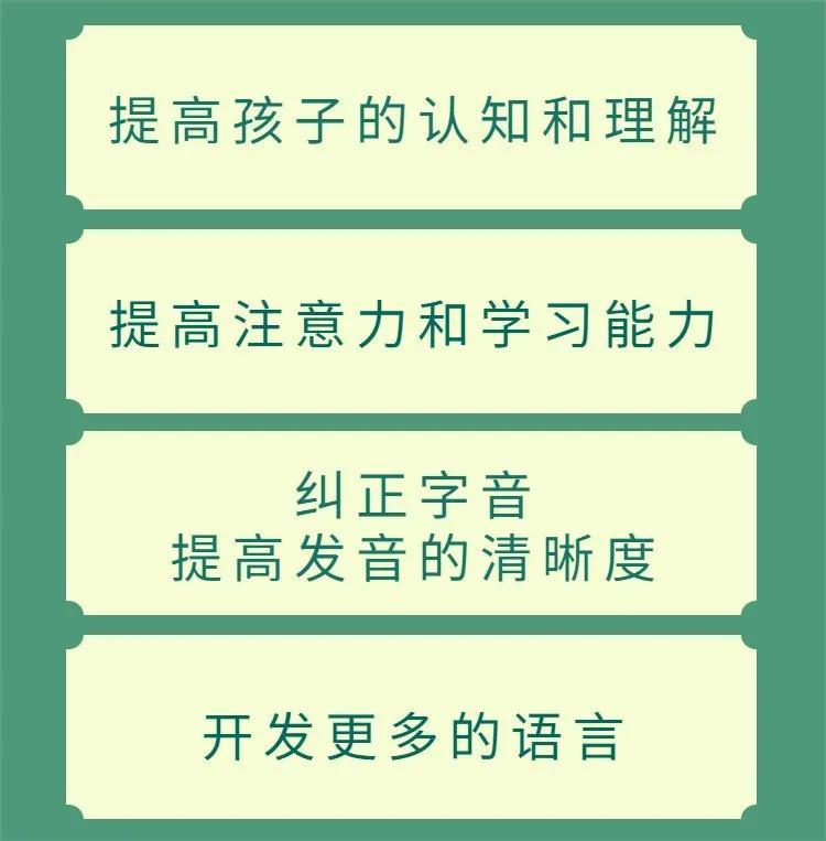 成都中童儿童康复医院智能语言训练主要内容