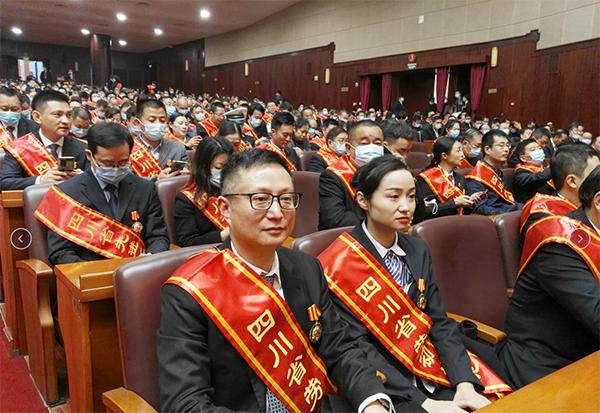 四川省泌尿外科医院院长曾政光荣获「四川省劳动模范」称号